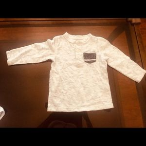 Long sleeve toddler shirt for 12-18 month old